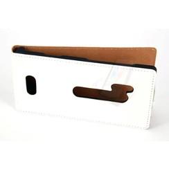 Book case voor Lumia N928 - Wit
