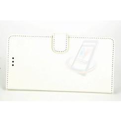 LG Optimus G4 Pasjeshouder Wit Booktype hoesje - Magneetsluiting - Kunststof;TPU