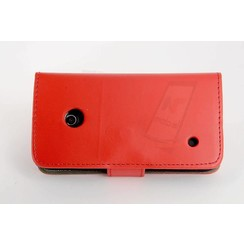 Book case voor Lumia N530 - Rood