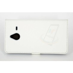 Microsoft Lumia 640 XL - N640 XL - Silicone Business Book case - White