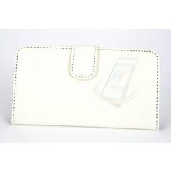 LG Optimus G2 Card holder White Book type case for Optimus G2 Magnetic closure
