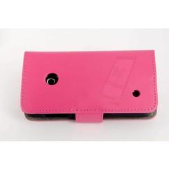 Book case voor Lumia N530 - Roze