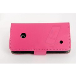 Nokia Lumia N530 - N530 - Un1Q Business Flip coque - rose