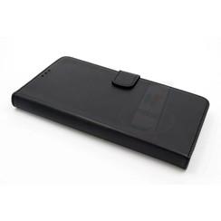 Samsung Galaxy A9 (2016) Pasjeshouder Zwart Booktype hoesje - Magneetsluiting - Kunststof;TPU