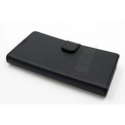 Nokia Lumia 550 - N550 - Business Leatherette Housse coque - noir
