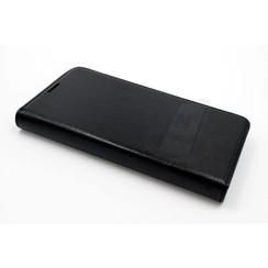 Nokia N Serie Pasjeshouder Zwart Booktype hoesje - Magneetsluiting - Kunststof;TPU