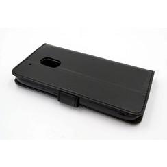 Motorola Moto G Pasjeshouder Zwart Booktype hoesje - Magneetsluiting - Kunststof;TPU