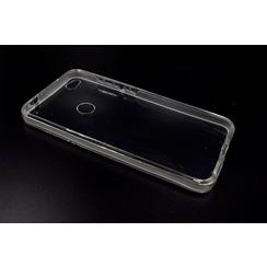 Silicone coque Transparent pour Huawei Ascend P8 Lite 2017 (8719273237151)