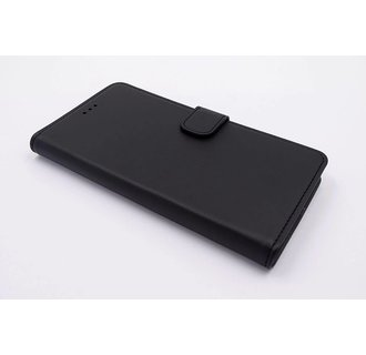 Motorola Moto G5 Pasjeshouder Zwart Booktype hoesje - Magneetsluiting - Kunststof;TPU