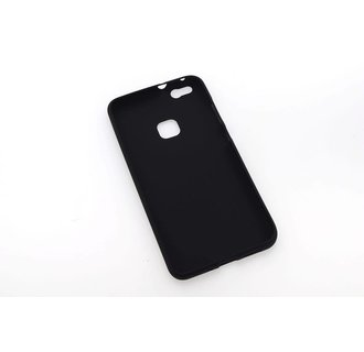 Silicone case for Huawei Ascend P10 Plus - Black (8719273242353)