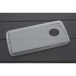 TPU Coque pour Motorola Moto G5 Plus - Transparent (8719273242049)