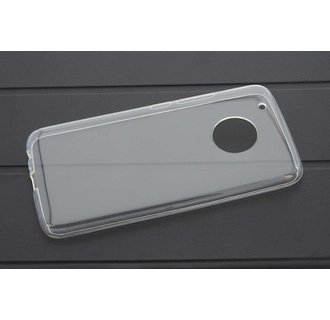 Backcover voor Moto G5 Plus - Transprant