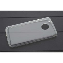 Backcover voor Moto G5 - Transprant