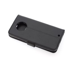 Motorola Moto X4 Kartenhalter Schwarz Book-Case hul -Magnetverschluss - Kunststof;TPU