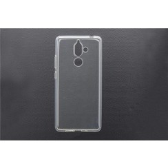 Silicone case for Nokia 7 Plus - Transparent (8719273268605)