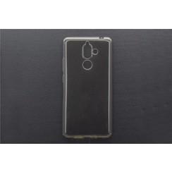 TPU Coque pour Nokia 7 Plus - Noir (8719273268612)