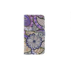 Huawei  P10 Titulaire de la carte Print Book type housse - Fermeture magnétique