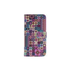 Huawei  P10 Lite Pasjeshouder Print Booktype hoesje - Magneetsluiting - Kunststof;TPU