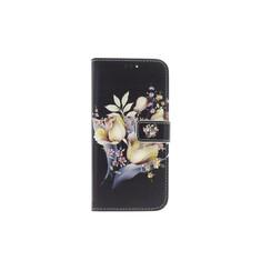 Huawei  P Smart Pasjeshouder Print Booktype hoesje - Magneetsluiting - Kunststof;TPU