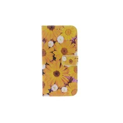 Huawei  P Smart Card holder Print Book type case for  P Smart Magnetic closure
