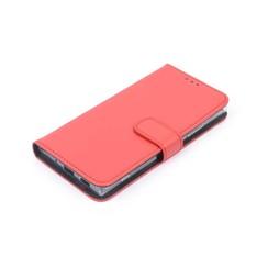 Nokia 2 Pasjeshouder Rood Booktype hoesje - Magneetsluiting - Kunststof;TPU