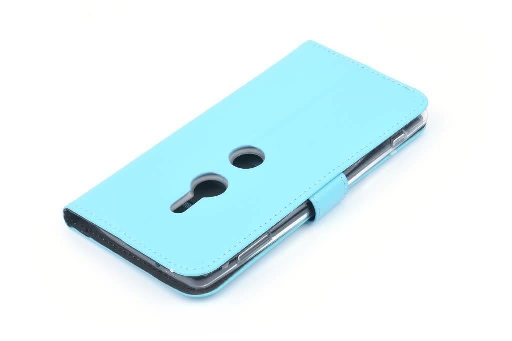 Andere merken Nokia 6 Pasjeshouder Blauw Booktype hoesje - Magneetsluiting - Kunststof;TPU