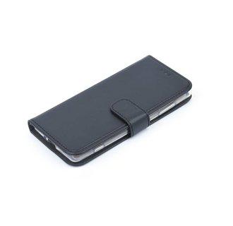 Nokia 6 Pasjeshouder Zwart Booktype hoesje - Magneetsluiting - Kunststof;TPU