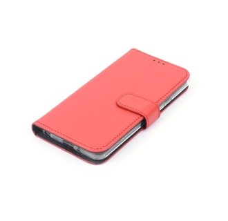LG Q6 Pasjeshouder Booktype hoesje - Magneetsluiting - Kunststof;TPU