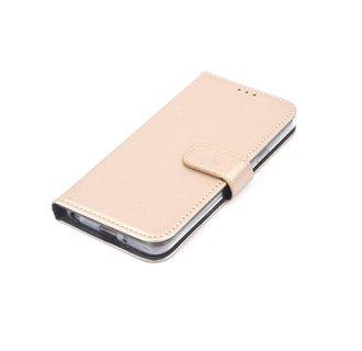 LG Q6 Pasjeshouder Roze Booktype hoesje - Magneetsluiting - Kunststof;TPU
