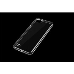 Silicone case for LG Q6 - Transparent (8719273275597)