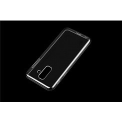 Silicone case for Galaxy A6+ (2018) - Transparent (8719273275658)