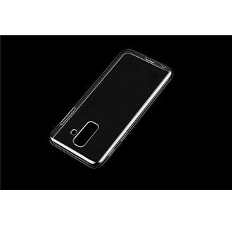 Backcover voor Samsung Galaxy A6 Plus  - Transparant