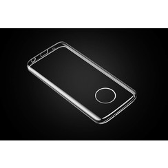 Silicone case for Moto G6 - Transparent (8719273277416)
