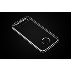 Silicone case for Moto Z3 Play - Transparent (8719273277423)