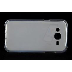 Samsung Galaxy J5 - J500F - Matt Backcover Silicone case - Clear
