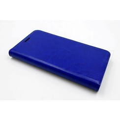 Samsung Galaxy J5 (2015) Card holder Blue Book type case for Galaxy J5 (2015) Magnetic closure