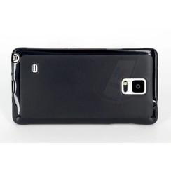 Backcover voor Samsung Galaxy Note 4 - Zwart
