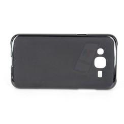 Samsung Galaxy J5 - J500F - Matt Backcover Silicone coque - noir