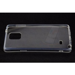 Backcover voor Samsung Galaxy Note 4 - Transparant