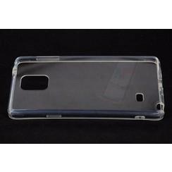 Samsung Galaxy Note 4 - N910F - Silicon sides Hard case - Clear