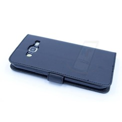 Samsung Galaxy J5 (2015) Card holder Black Book type case for Galaxy J5 (2015) Magnetic closure