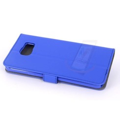 Samsung Galaxy Note5 Card holder Blue Book type case for Galaxy Note5 Magnetic closure