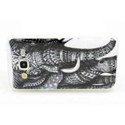 Samsung Galaxy J5 - Silicone coque - Print 6 (8719273219539)