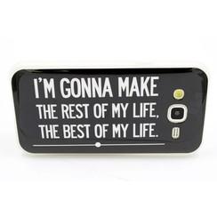 Samsung Galaxy J5 - Silicone case - Print 10 (8719273219577)