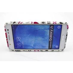 Samsung Galaxy J5 - Silicone case - Colorful (8719273125397)