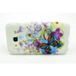 Backcover voor Samsung Galaxy J5 - Colorful