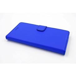 Samsung Galaxy J3 (2016) Titulaire de la carte Bleu Book type housse - Fermeture magnétique