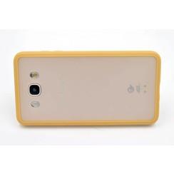 Silicone case Gold - Samsung Galaxy J7 (2016) (8719273227756)