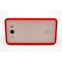 Backcover voor Samsung Galaxy J7 (2016) - Rood