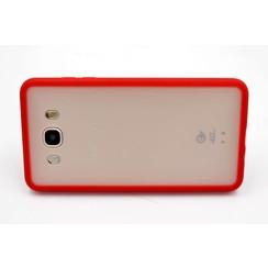 Silicone coque rouge - Samsung Galaxy J7 (2016) (8719273227770)